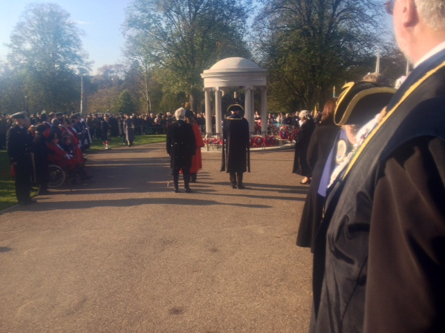 The Wreath Laying Ceremony