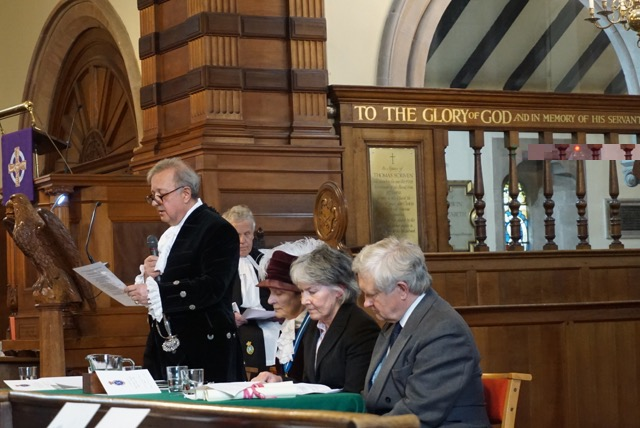Charles making his Declaration